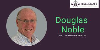 Associate director douglas noble hallcroft finance